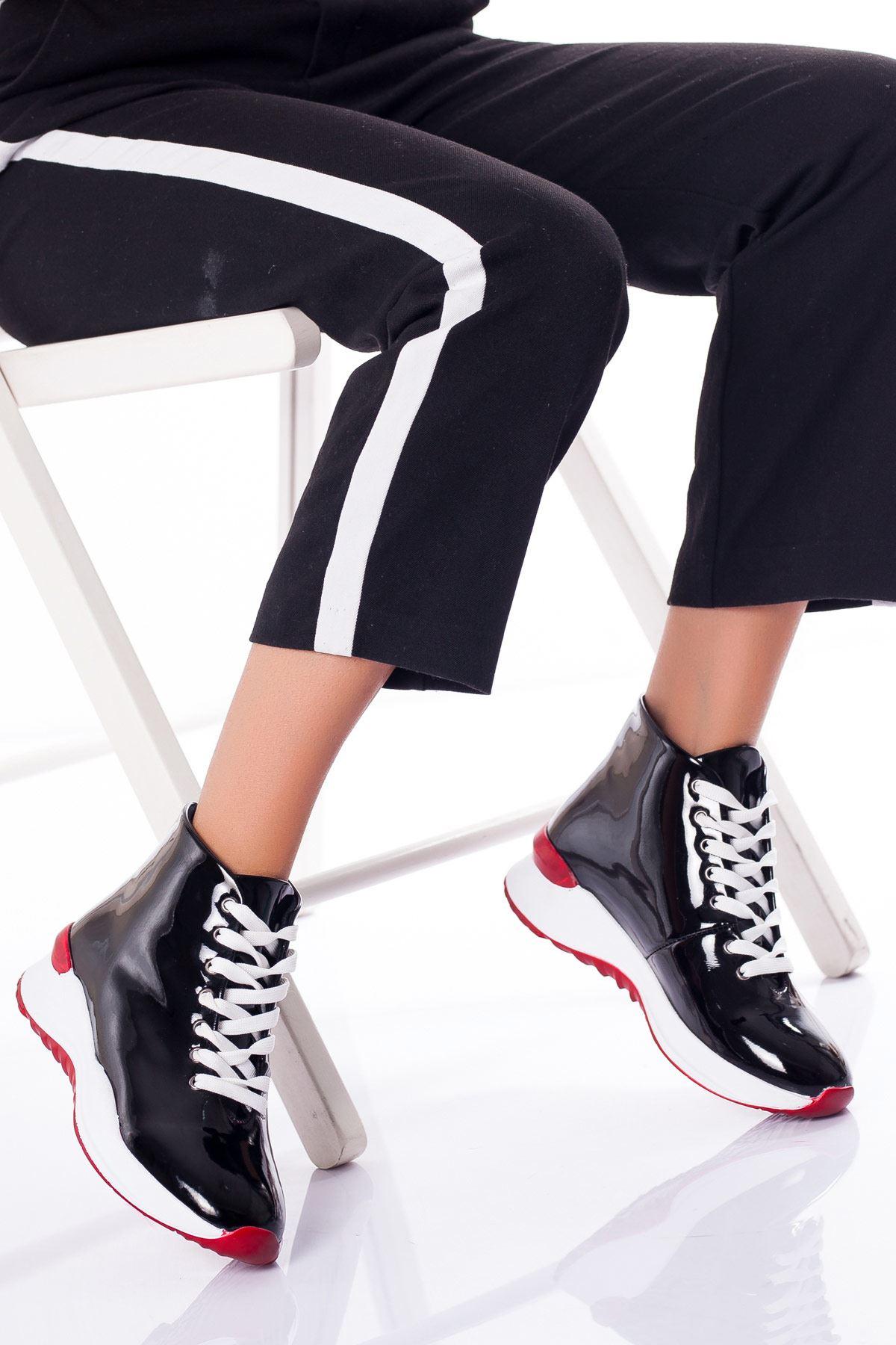 Tesettür Çizme Ayakkabı Frekansı Karışık Kadın 37