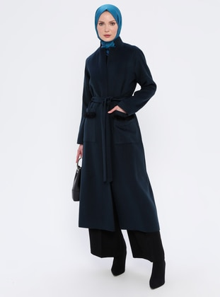 Petrol - Unlined - Viscose - Topcoat