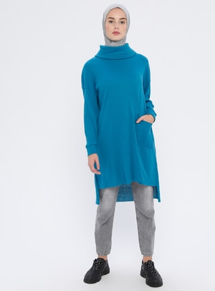Petrol - Knit Tunics