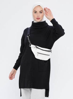 Black - Knit Tunics