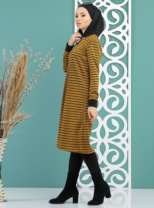 Mustard - Stripe -  - Tracksuit Top
