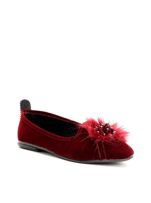 Casual - Maroon - Home Shoes