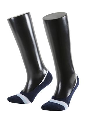 Navy Blue -  - Socks