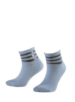Blue -  - Socks