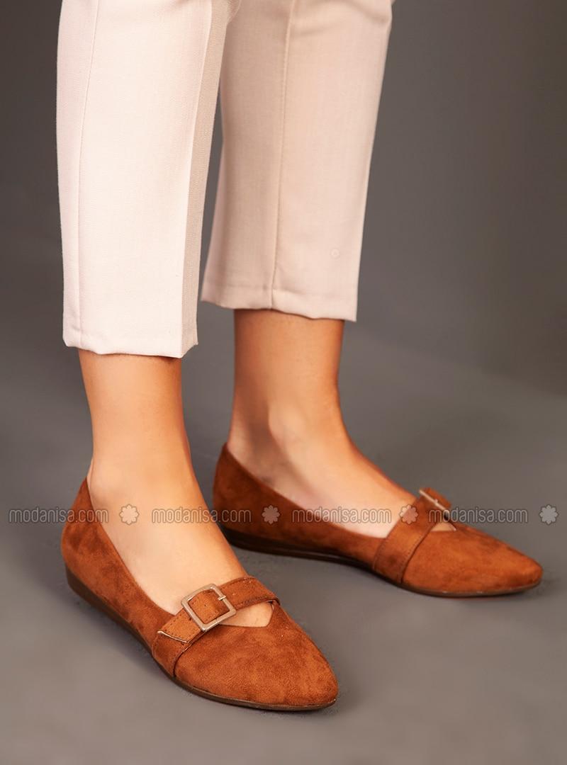 Tan - High Heel - Shoes