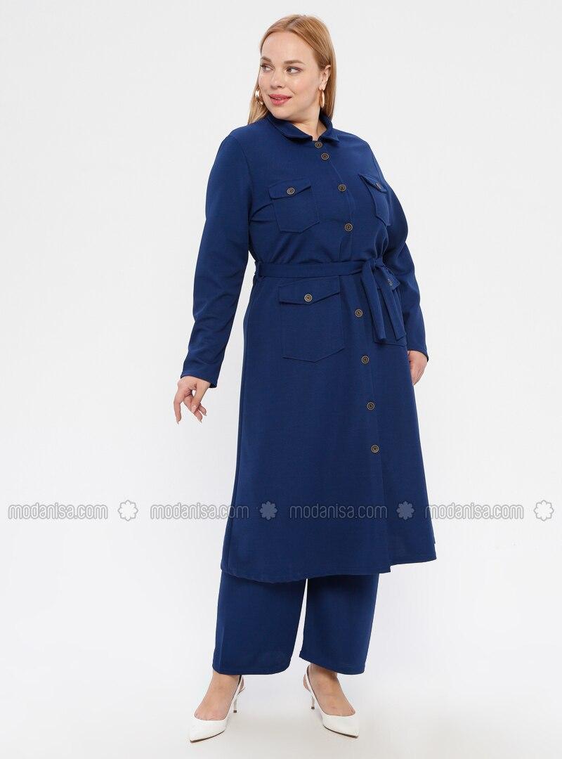 Saxe - Point Collar - Plus Size Suit