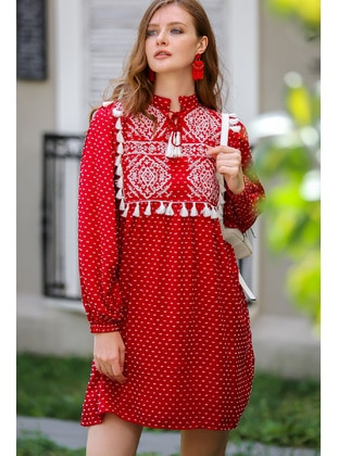 Red - Loungewear Dresses