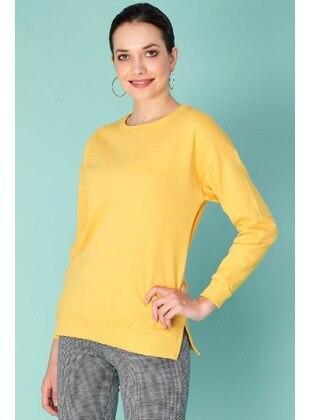 Yellow - Sweat-shirt