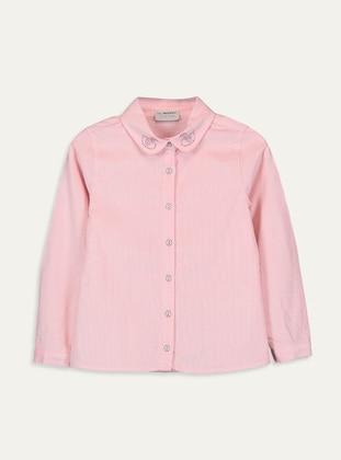 Pink - Girls` Shirt - LC WAIKIKI