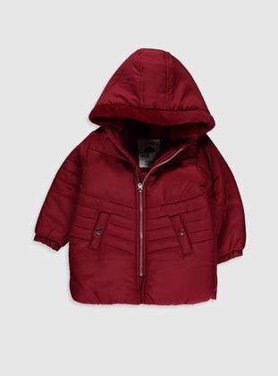 Maroon - Baby Jacket - LC WAIKIKI