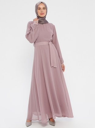 Dusty Rose - Dusty Rose - Crew neck - Fully Lined - Dress