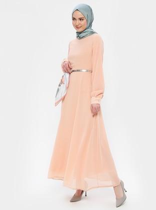 Powder - Powder - Crew neck - Fully Lined - Dress