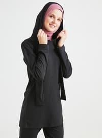 Siyah - Astarsız Kumaş - Viskon - Takım Elbise