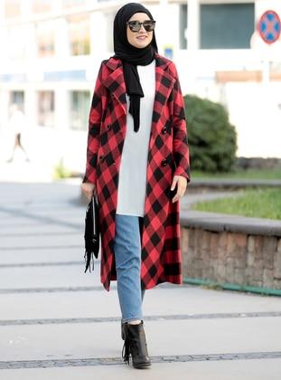 Maroon - Unlined - Coat