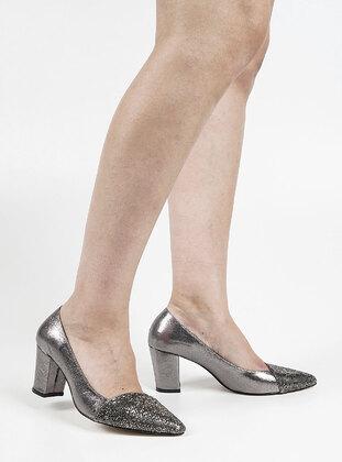 Silver - Evening Shoes - Marjin