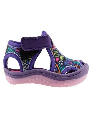 Purple - Girls` Sandals - Ayakland