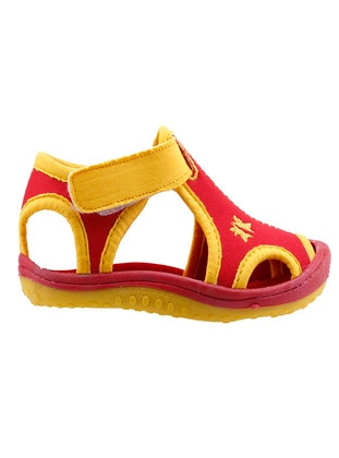 Red - Boys` Sandals - Ayakland