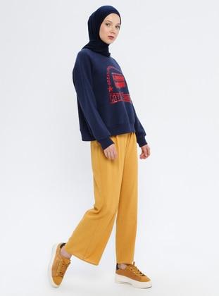 Mustard - Mustard - - Pants