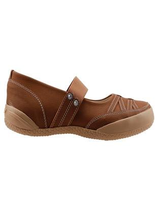 Tan - Flat Shoes