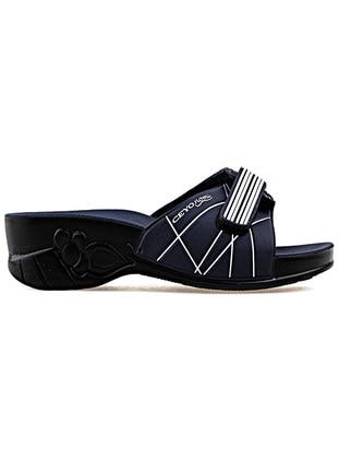 Navy Blue - Slippers