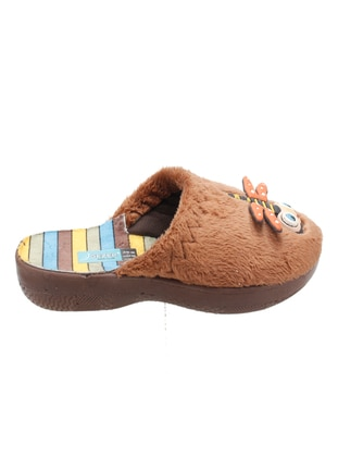 Brown - Boys` Slippers