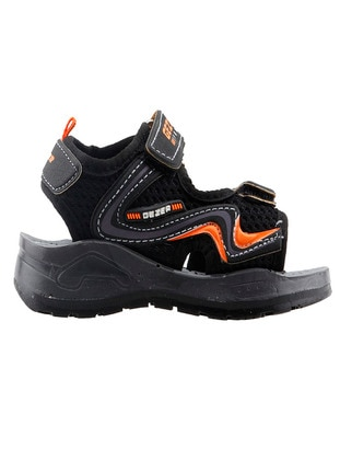 Black - Boys` Sandals - Gezer