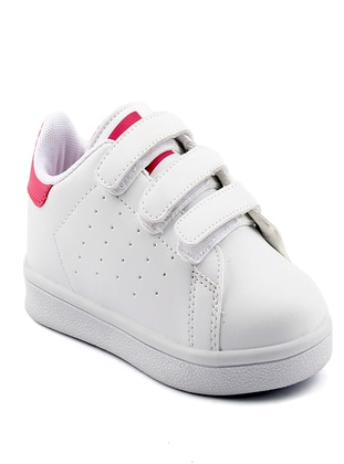 White - Girls` Shoes - Jump