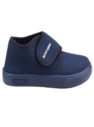 Navy Blue - Girls` Slippers