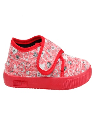 Red - Girls` Slippers - Sanbe