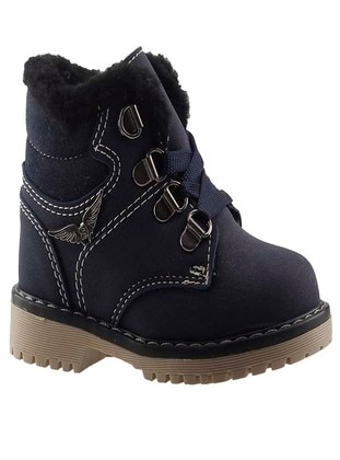 Navy Blue - Boys` Shoes