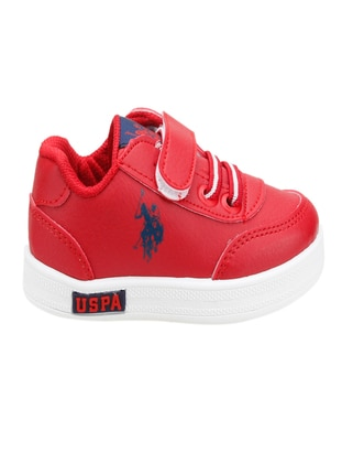 Red - Boys` Shoes - U.S. Polo