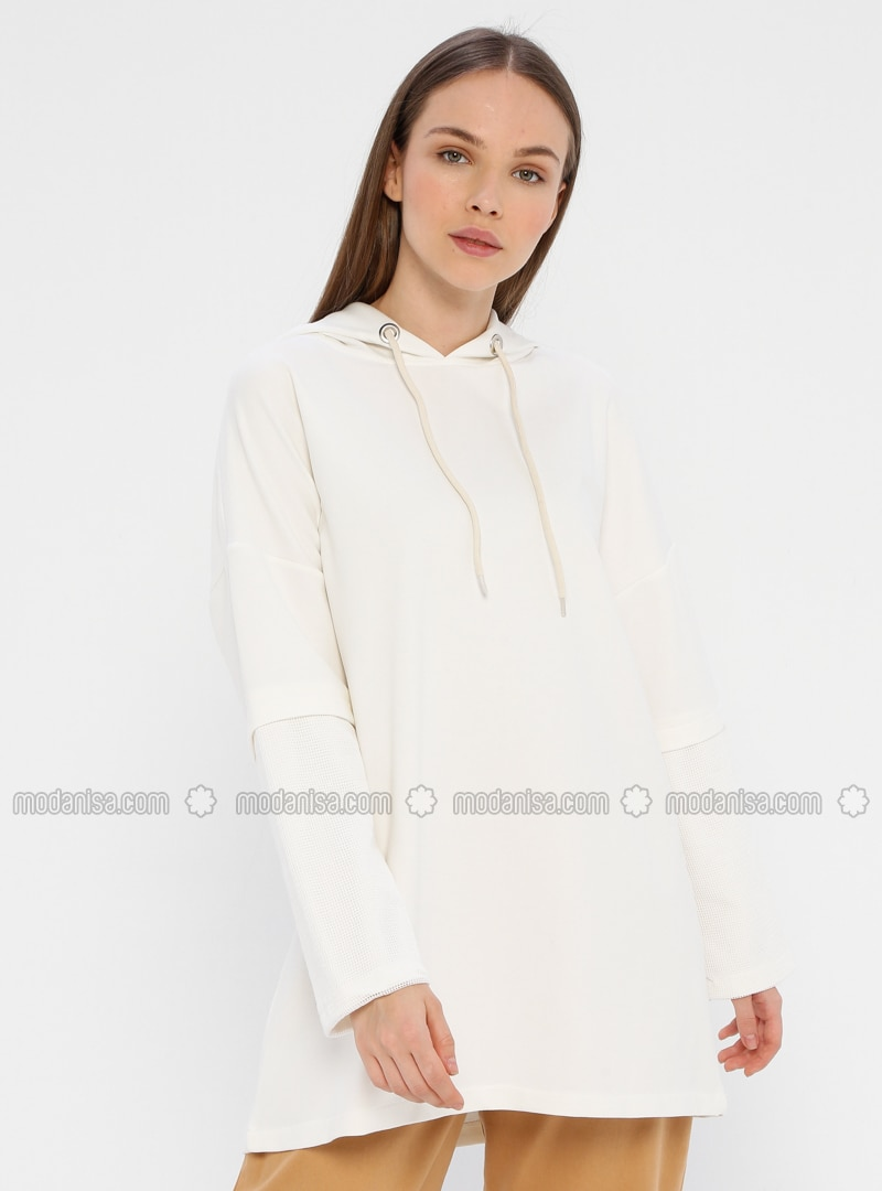 White - Ecru -  - Tunic
