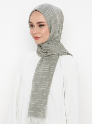 Green Almond - Plain -  - Shawl