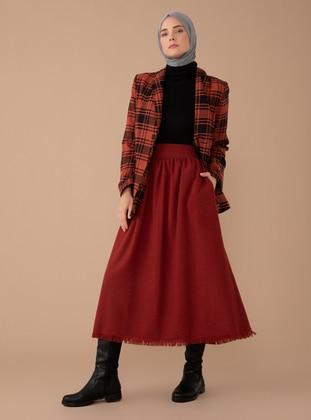 Terra Cotta - Multi - Unlined -  - Skirt