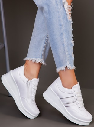 White - Sport - White - Sport - Sports Shoes - Ayakkabı Havuzu