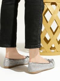 Gray - Flat - Flat Shoes - Artshoes