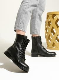 Black - Boot - Boots - Artshoes