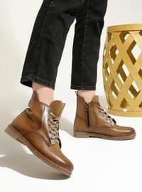 Tan - Boot - Boots - Artshoes