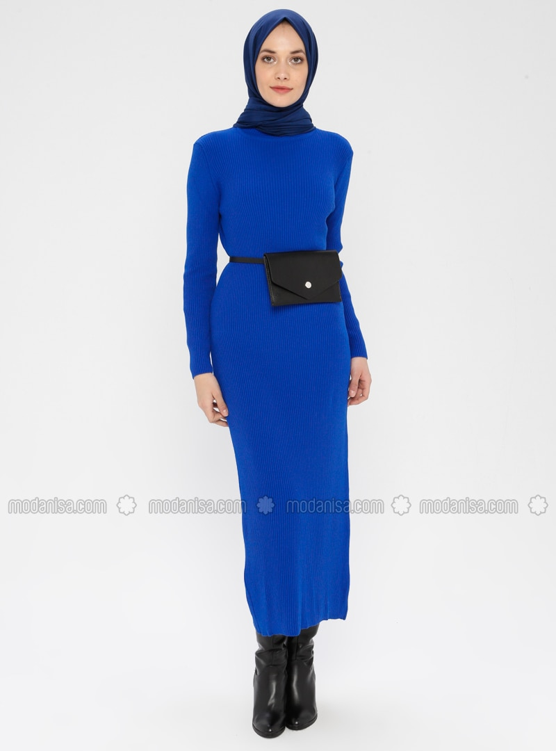 Saxe - Polo neck - Unlined - Acrylic -  - Dress