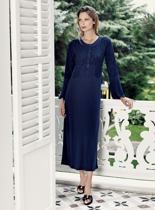 Navy Blue - Nightdress