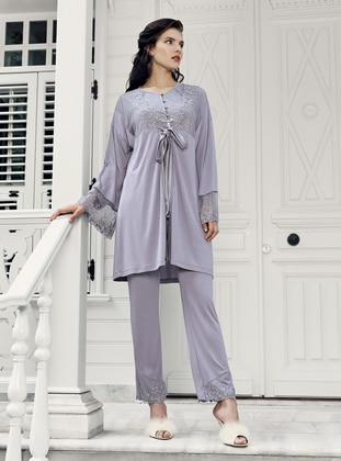 Lilac - Purple - Morning Robe