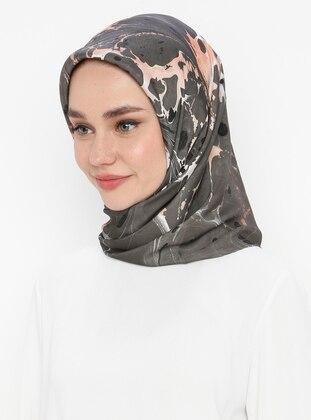 Black - Silk Blend - Scarf
