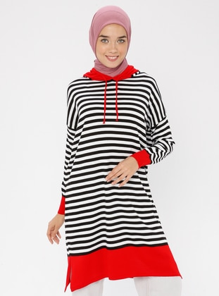 Red - Knit Tunics