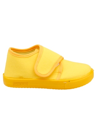 Yellow - Girls` Slippers - Sanbe