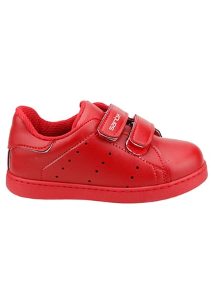 Red - Boys` Shoes - Sanbe