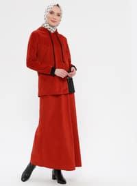 Black - Orange - Unlined - Suit
