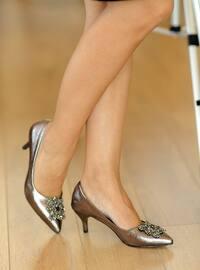 Silver - High Heel - Heels