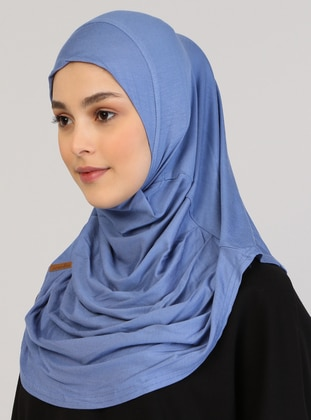 Blue - Instant Scarf