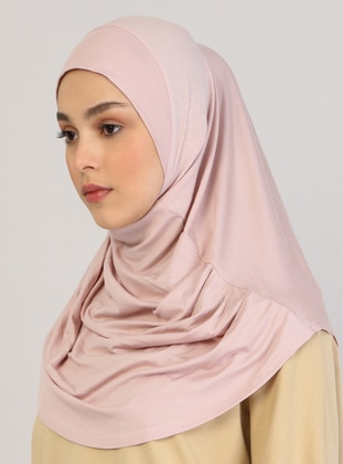 Powder - Plain - Viscose - Instant Scarf