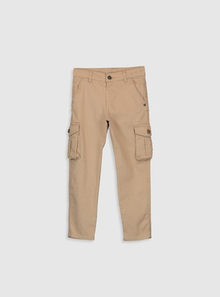 Beige - Boys` Pants